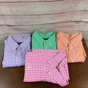 Ralph Lauren Lot of 4 Short Sleeve Button Down